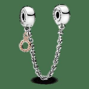 Corrente De Segurança Pandora Rose™ O  Coroa Pandora