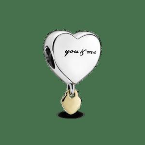 Charm Pendente Coração (You & Me)