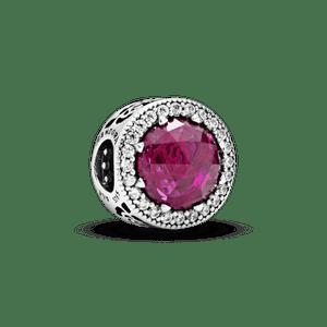 Charm Rosa Radiante - A Bela E A Fera