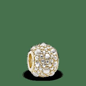Charm Gotas De Orvalho De Ouro