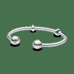 Bracelete Crie & Combine Pandora Evolution - Ponteira Pandora