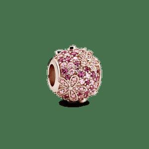 Charm Pandora Rose™ Pavê Margarida Pink