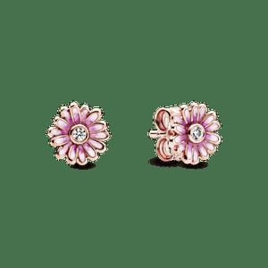 Brinco Pandora Rose™ Margaridas Pink