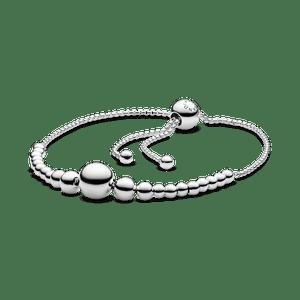 Bracelete Pandora Cordão Esferas