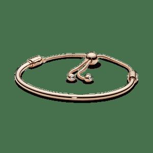 Bracelete Rígido Pandora Rose Crie & Combine Cordão Pandora