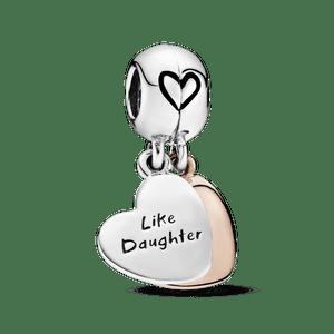 Charm Pendente Pandora Rose Amor De Mãe E Filha