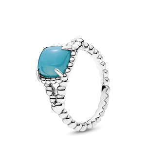 Anel Espírito Vibrante Azul