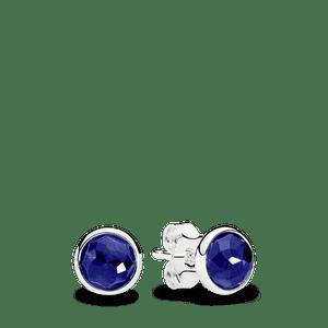Brinco Gota De Safira Sintética - Setembro