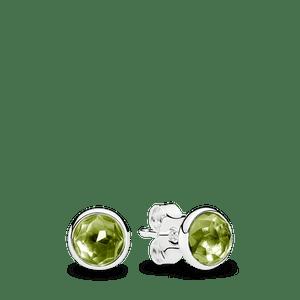 Brinco Gota De Peridoto - Agosto