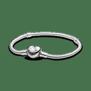 Bracelete Pandora Fecho De Coração