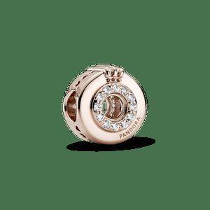 Charm Coroa O Em Pavé Signature Bilhante Pandora Rose™