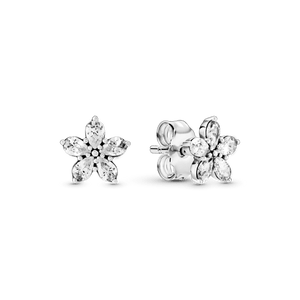Brinco Petit Floco De Neve Brilhante