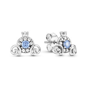 Brincos Petit Disney Carruagem Da Cinderela