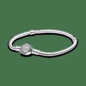Bracelete Crie & Combine - Coração Brilhante