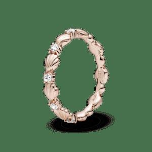 Anel Pandora Rose™ Concha Do Mar - Pandora Ocean