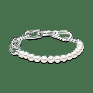 Bracelete De Perolas Cultivadas De Agua Doce Pandora Me